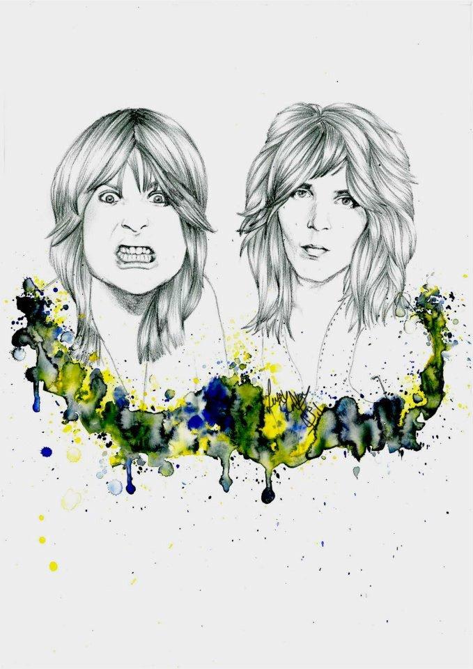Ozzy & Randy - vector
