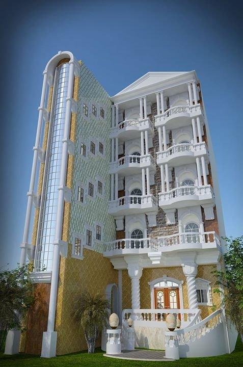 تصميم مبني سكني (2)