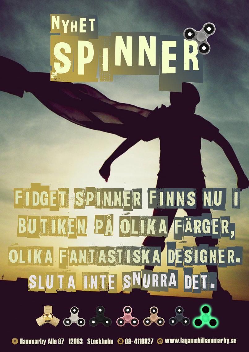 بوستر سبينر لشركة سويدية