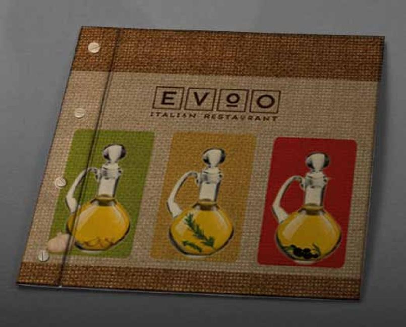 Sheraton EVOO Menu Cover