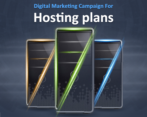 Digital Marketing Campaign For Dimofinf Hosting plans