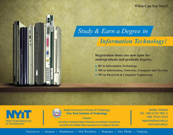 Earn a Degree in IT