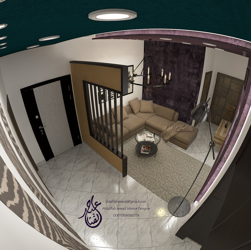 Interior Design for the house of Mr. Majid Dawood