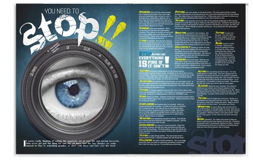 صفحات من عدد الرعب بمجلة انسايت