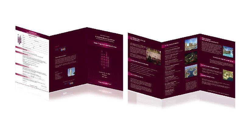 Real Estate conference brochure2