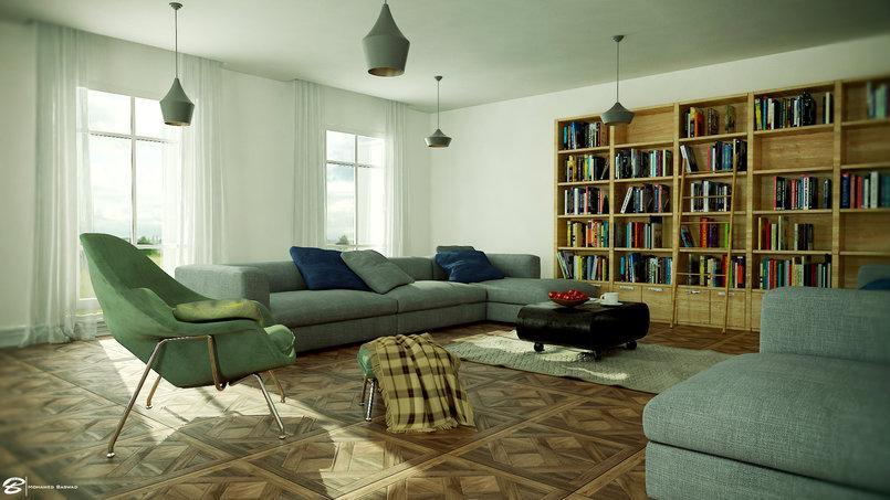 غرفة معيشة /living room