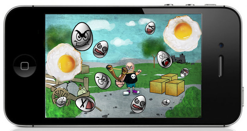 Pop the eggs iphone game