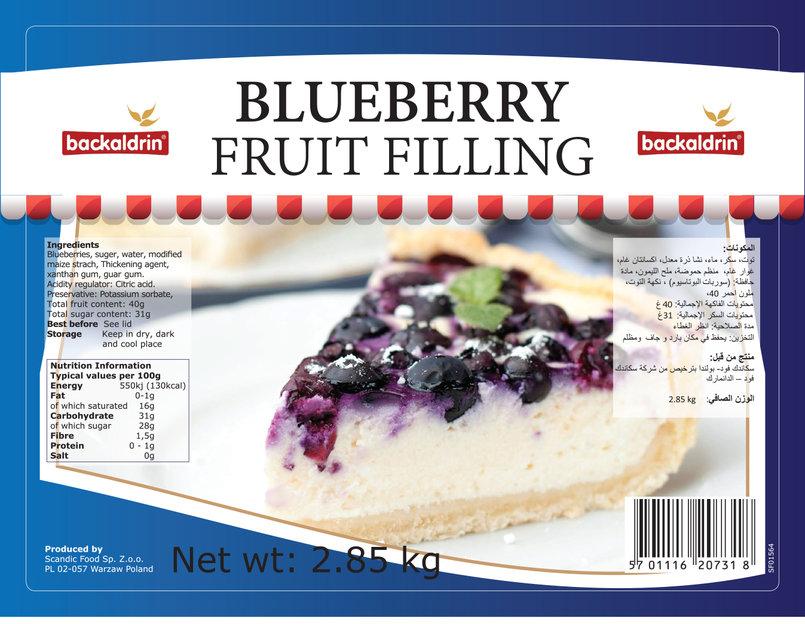 Backaldrin Fruit Fillings