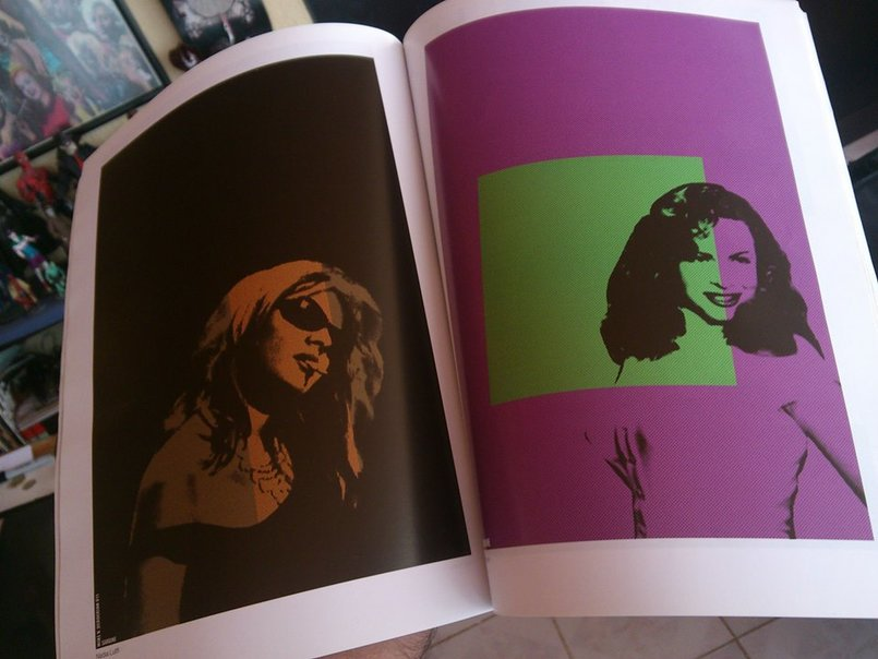 A story about my 3arabiyat posters!   Nadia Lutfi and Hind Rostom ...  This was a while ago in REVIEW AMMAN magazine, one of the best art and literary magazines to be ever published in Jordan - I am not saying this because they covered my work.   Ask around! Thank you Miss Dina Dabbas Rifai for such a great magazine.