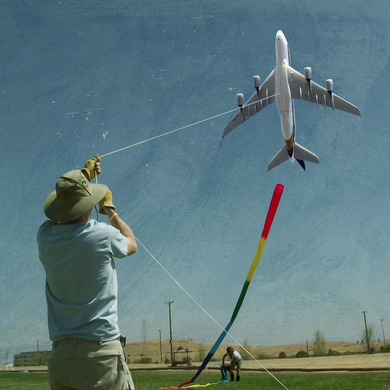 Kiting a Plane