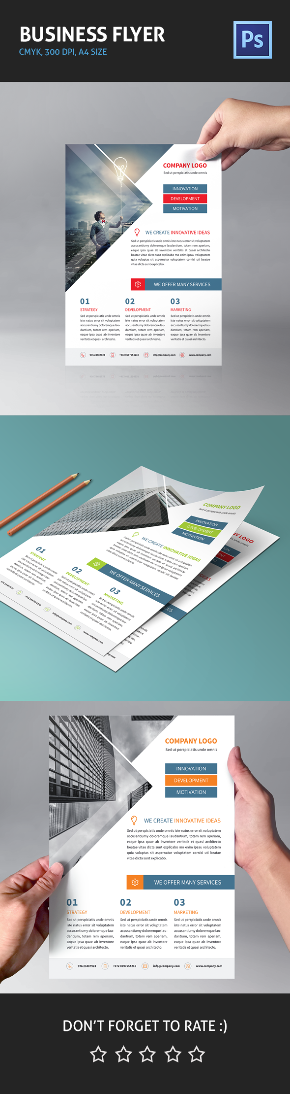 Corporate Business Flyer 01