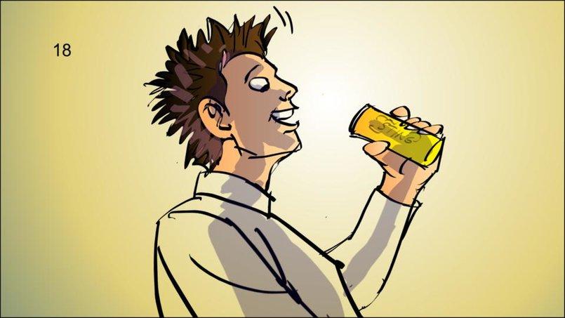 STING  energy drink