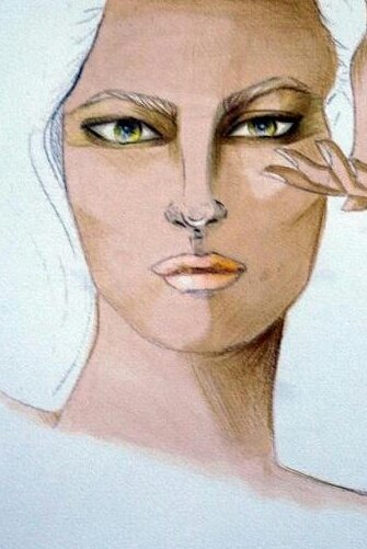 Fashion Illustration portraits