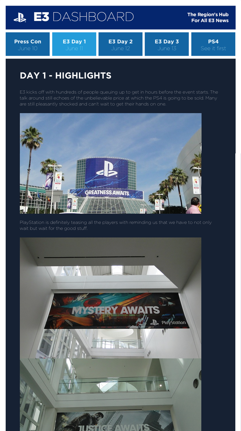 PlayStation at E3