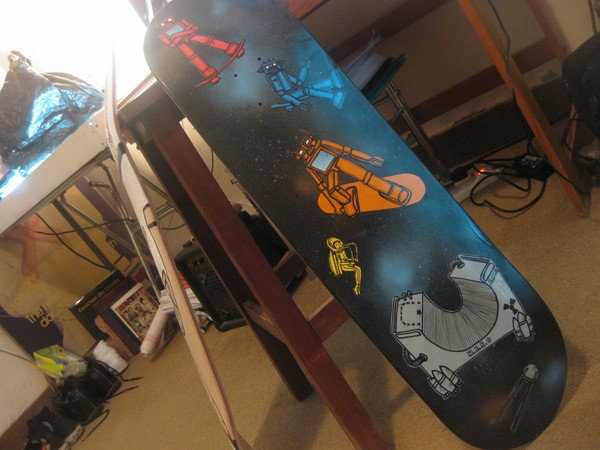 My Skateboard Decks for Foresight32 Street Art