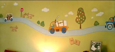 رسومات أطفال للمنازل والمدارس