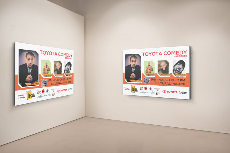 Toyota Comedy Featuring Moe Amer - Poster