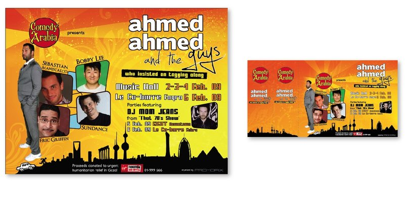 Ahmed Ahmed comedy event