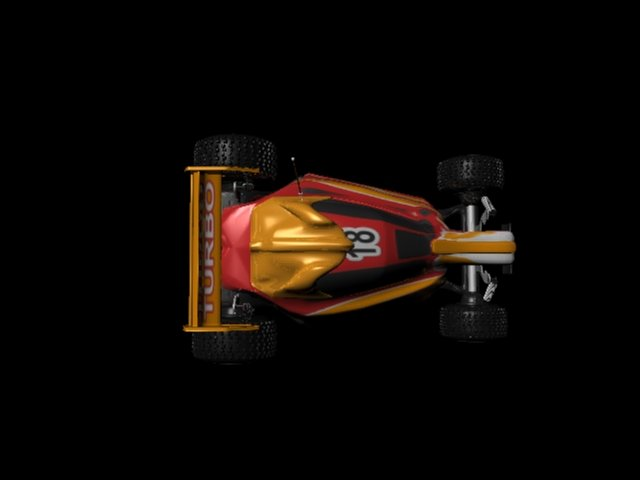 my first project in graphics - Car & remote modeling