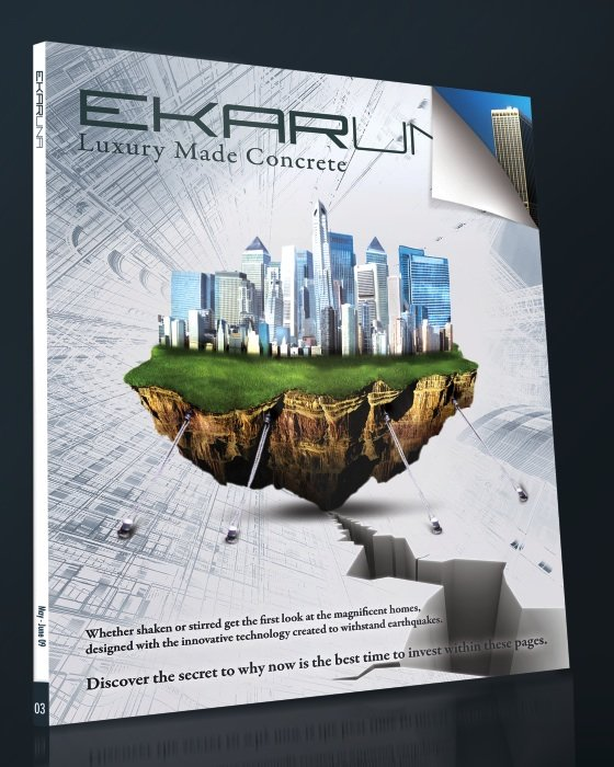 Ekaruna real estate magazine cover