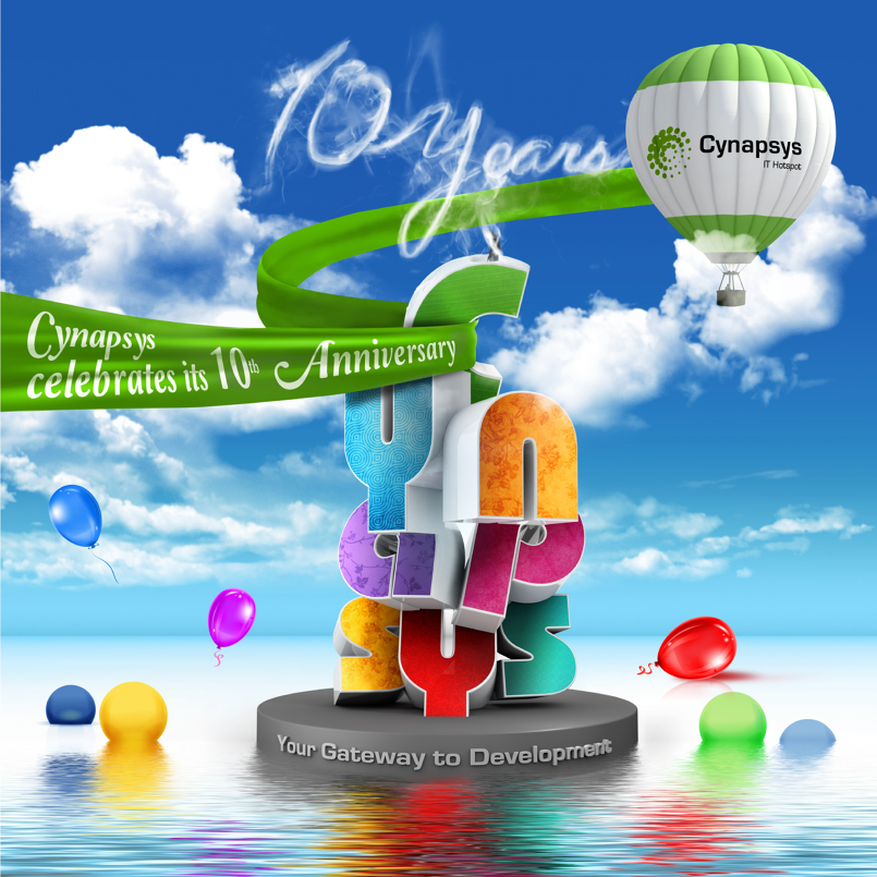 Cynapsys celebrates its 10th anniversary