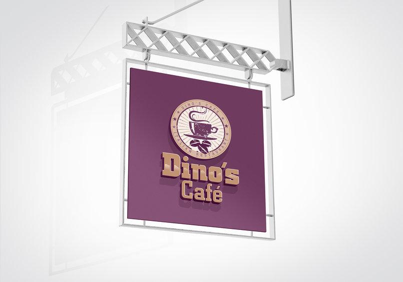 2 - Dino's Café Italian Restaurant Rebranding