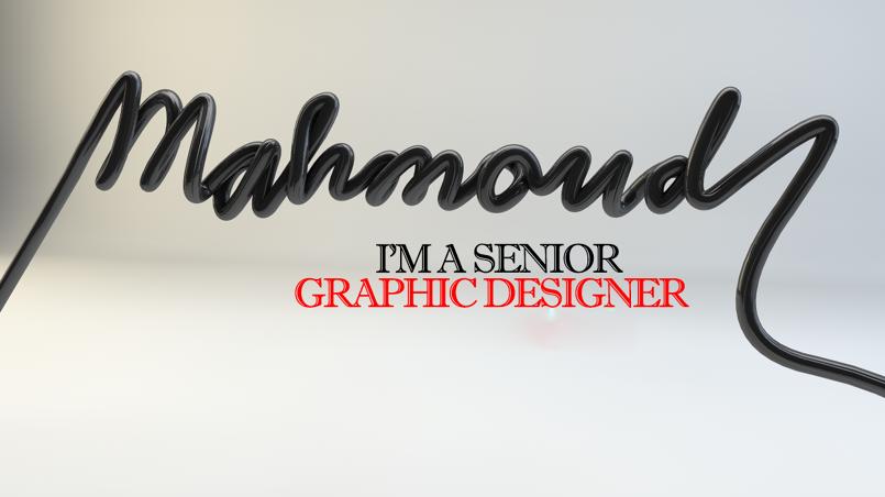Mahmoud Senior Graphic Designer