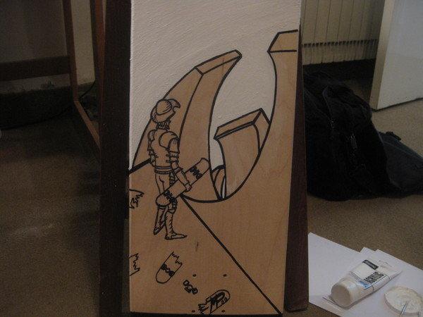 My Skateboard Decks for Foresight32 Street Art