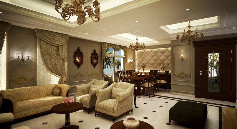 Classic Style room_05