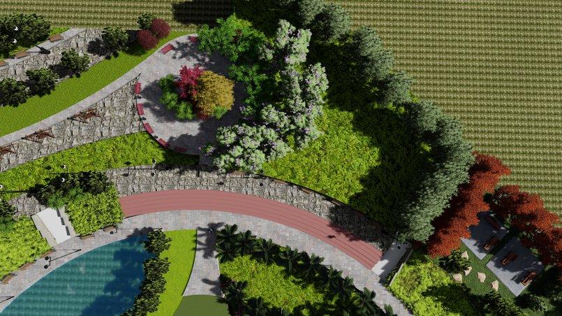 اعادة تأهيل حديقة عامة