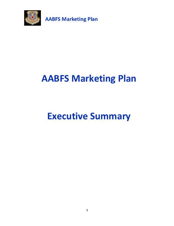 AABFS Marketing Plan