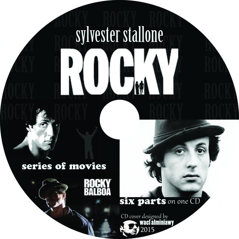 كفر اسطوانة لسلسلة افلام روكى سيلفستر ستالون