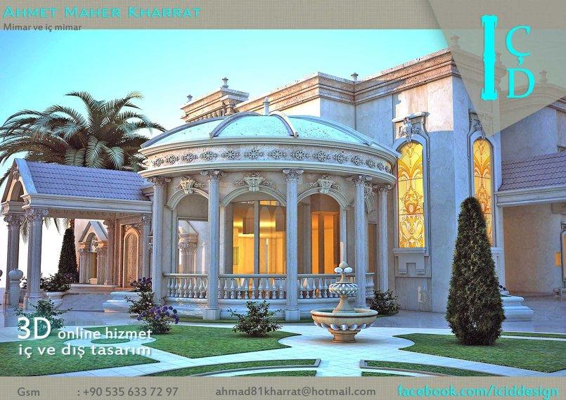 باقة منوعة من تصاميمي الداخلية والمعمارية