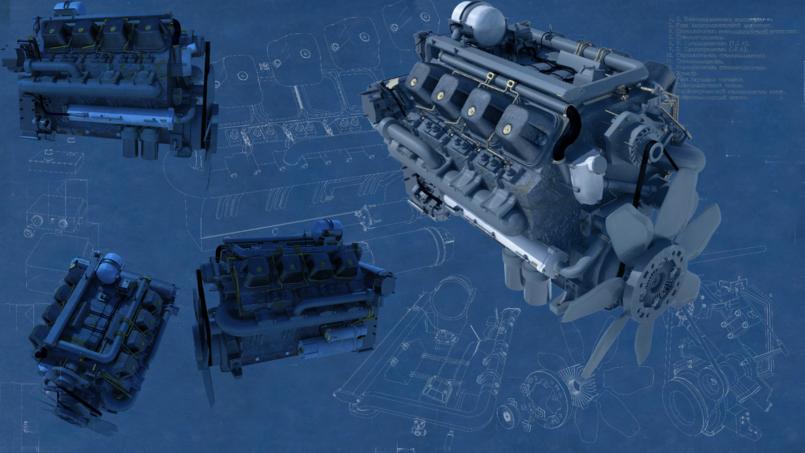Kamaz Engine