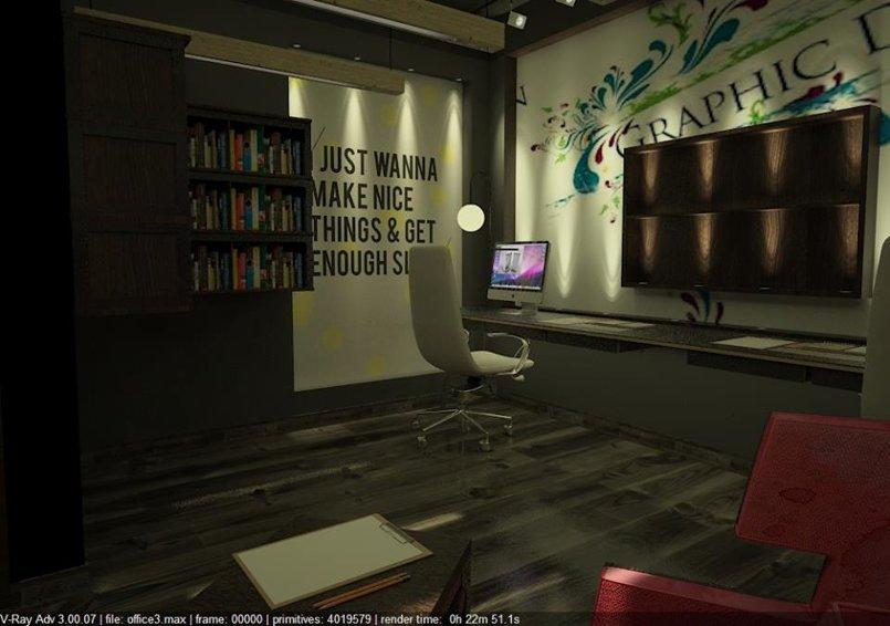 Graphic Designer Office