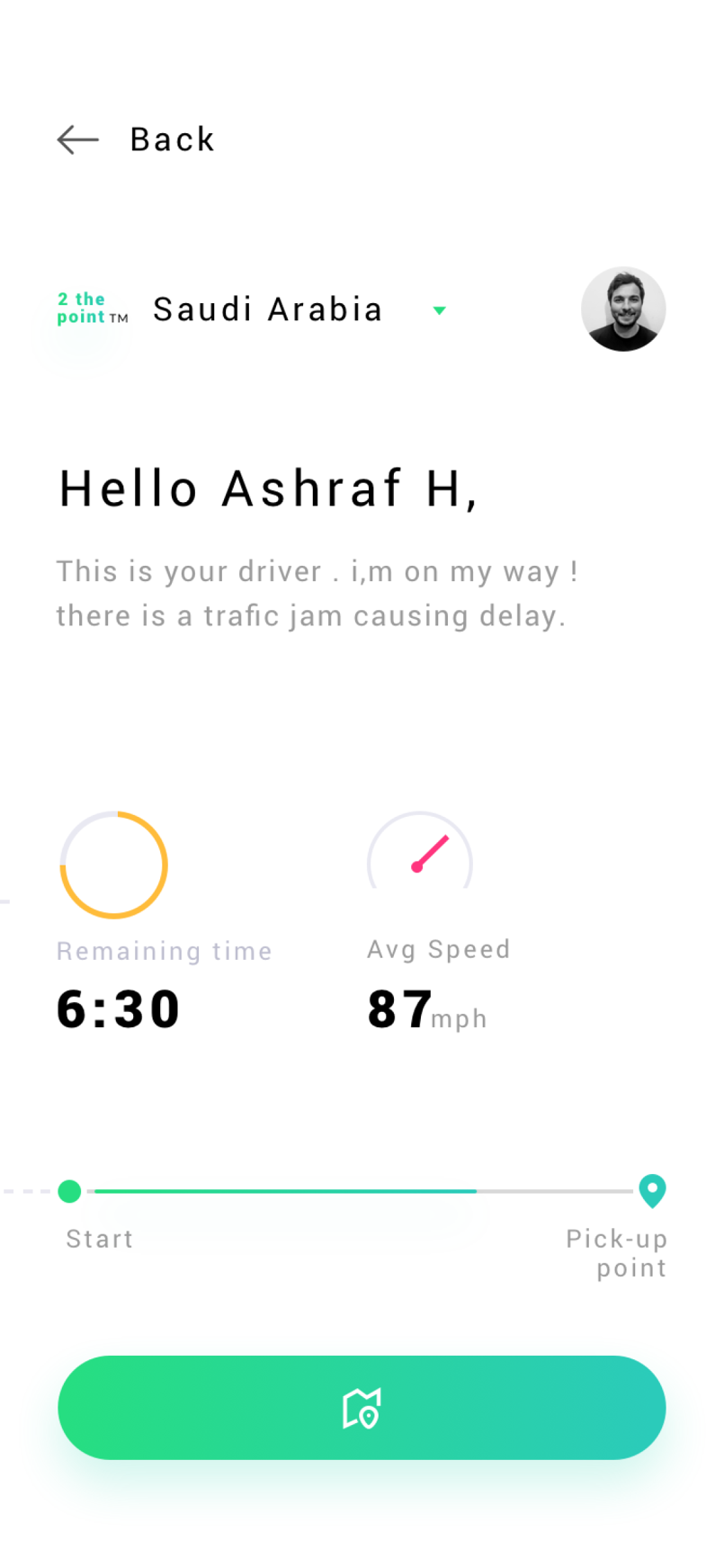 Drivat Delivery App