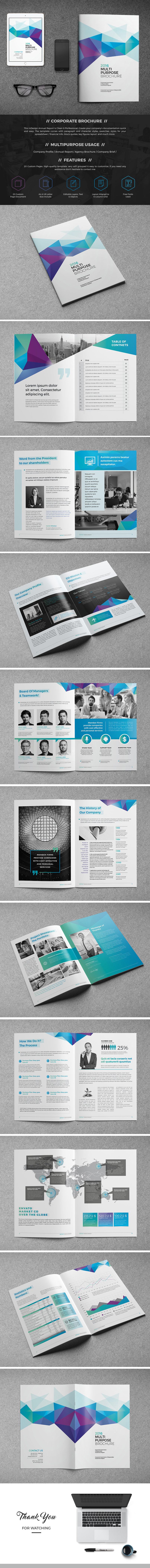 ِAbstract Brochure Template