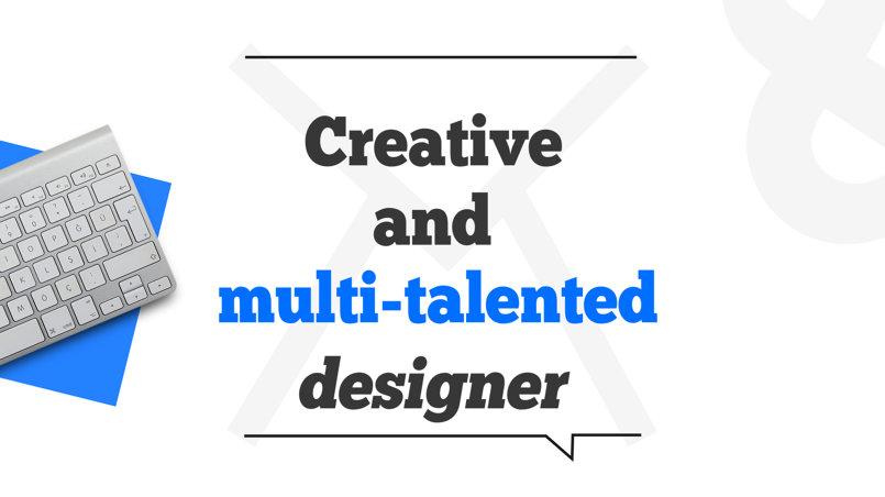 My CV, motion graphics