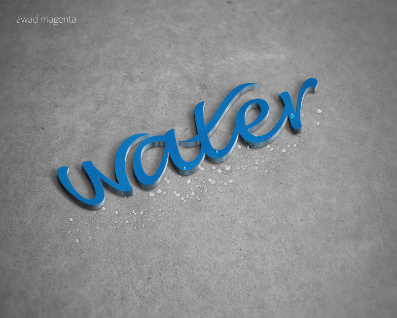 water for water