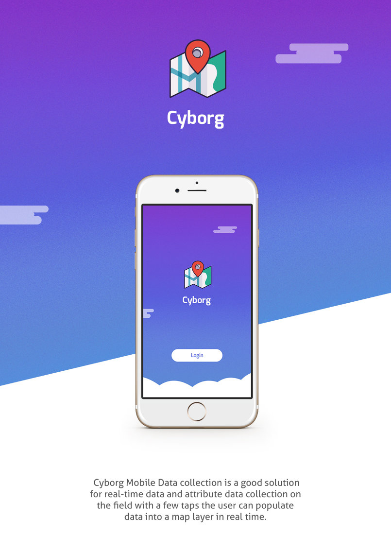 Cyborg - Mobile App Design
