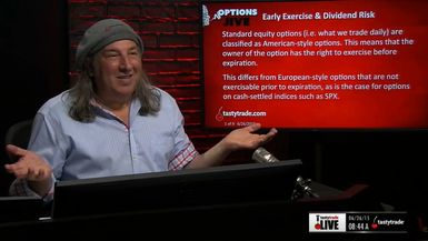 Options Jive: Early Exercise & Dividend Risk