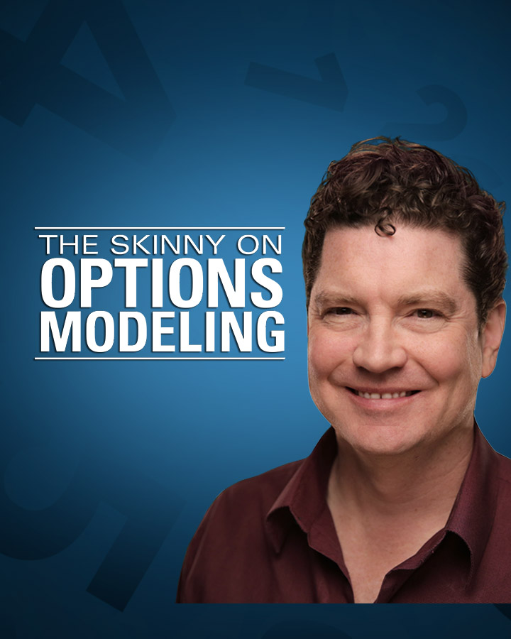 doublerainbow LIVE - The Skinny On Options Modeling