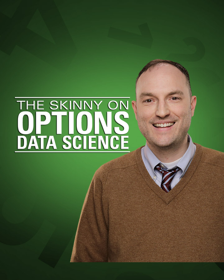 tastytrade LIVE - The Skinny On Options Data Science