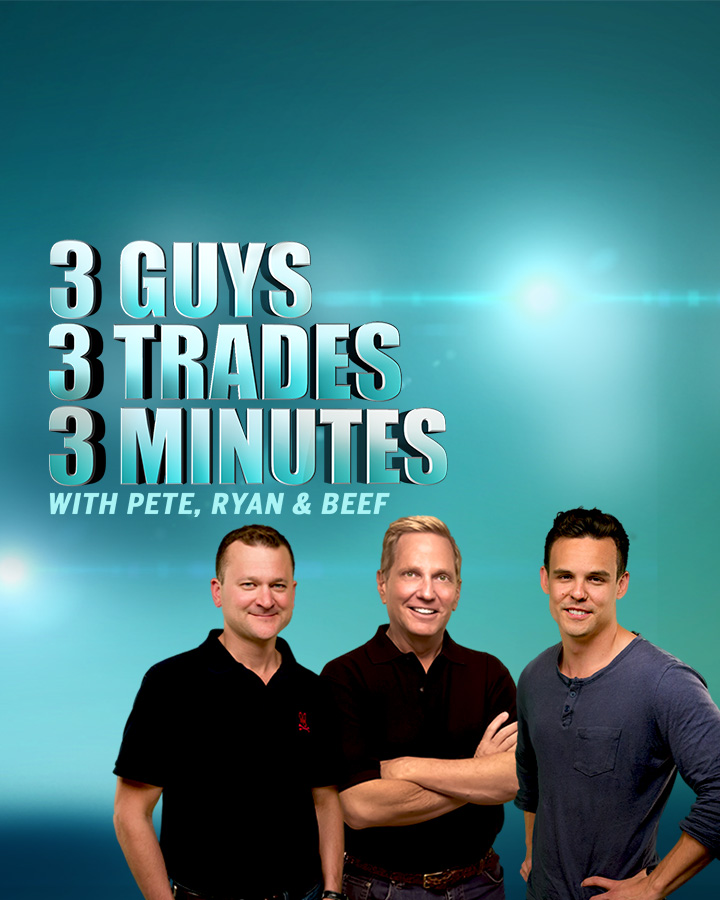 Splash Into Futures with Pete Mulmat - 3 Guys, 3 Trades, 3 Minutes