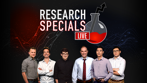 Research Specials LIVE - January 18, 2021