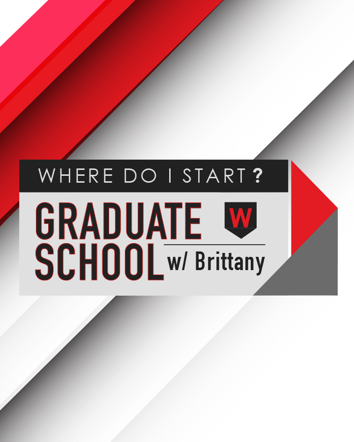 The 'Where Do I Start?' Series - WDIS: Graduate School