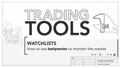Tradingtools-watchlist