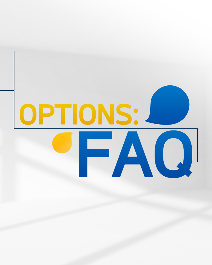 The LIZ & JNY Show - Options: FAQ