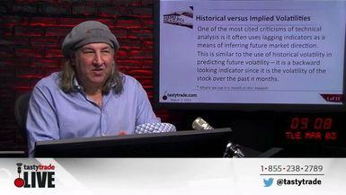 Market Measures: Historical versus Implied Volatilities