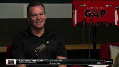 Closing The Gap: Covered Strangles